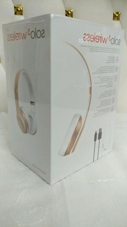 2018- Beats Solo 3 Wireless Headphones Special Edition - Ros
