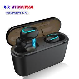 5D Bluetooth 5.0 Headset TWS Wireless Earphones Twins Earbud