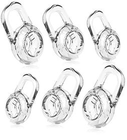 6 Clear Small Medium Large Eargels for PLANTRONICS Discovery