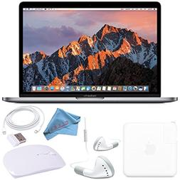 "Apple 128GB SSD 13.3"" MacBook Pro  MPXQ2LL/A + White 2.4 GHz"