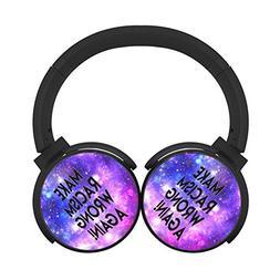 BLTHFun Bluetooth Headset Headphone Wireless Make Racism Wro