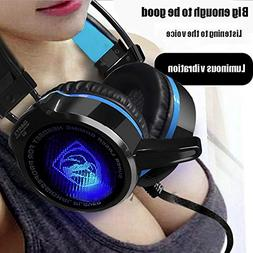 Birdfly Headset Headset Micphone Wearing Computer Game Heavy