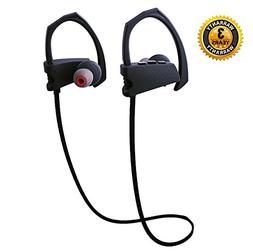 Bluetooth Headphones Wireless Earphones IPX5 Waterproof Heav
