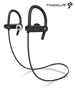 Bluetooth Wireless Workout Headphones by PLUMSOTT | Best Spo