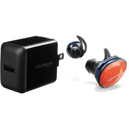 Bose SoundSport Free Truly Wireless Headphones - Bright Oran