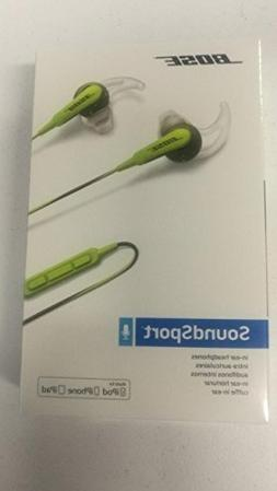 Brand New/Sealed Bose SoundSport in-ear headphones - Apple d