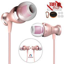 EYEKOP E2 Headphones Earphones, in-Ear Wired Earbuds Magneti