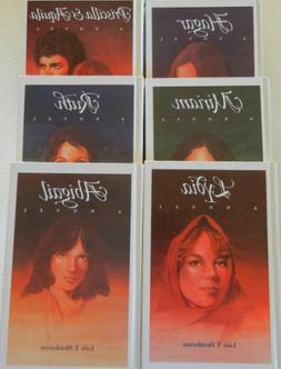 Hagar, Abigail, Miriam, Ruth, Lydia, Priscilla and Aquila