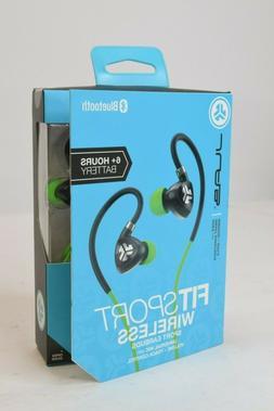 JLab Audio Fit Sport 2.0 Bluetooth Wireless Earbuds - Green/