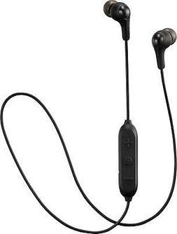 JVC Wireless Earbud Soft Gumy Wireless Earbud, Black
