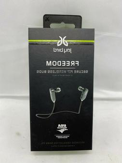 JayBird Freedom Bluetooth Earbuds, Retail Packaging, Midnigh