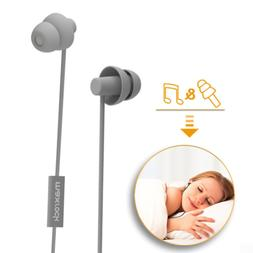 MAXROCK Sleeping Headphones, in-Ear Soundproof Earplug Soft