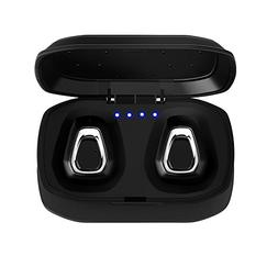 MIYA LTD Sweatproof Mini Headset, Wireless Sports Earphones