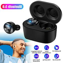Waterproof Wireless Bluetooth Earbuds HD Stereo Headphones H