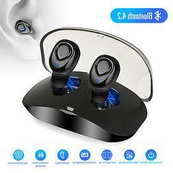 Mini Wireless Bluetooth Earbuds Waterproof Twins Headset Ste