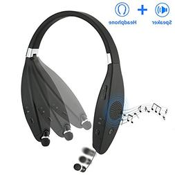 Sindcom Bluetooth Headphones Built-in Wireless Speaker Porta