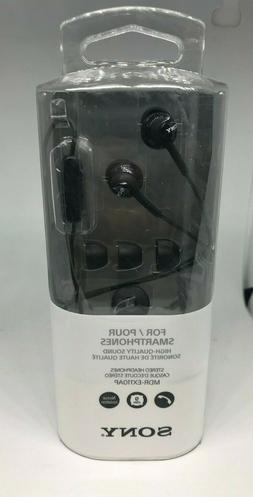 Sony MDR-EX110AP-B Ex Monitor In-ear Headphones With Microph