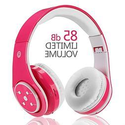 Wireless Bluetooth Kids Headphones,VOTONES Girl Wired Headse