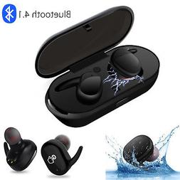 Waterproof True Twins Wireless Sport Earbuds Headset Bluetoo