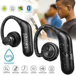 Waterproof True Wireless Sport Earbuds Headset Bluetooth HIF