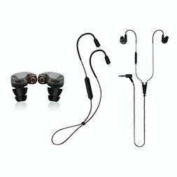 Wireless Bluetooth Earbud Wired Headphones - Datechip Lightw