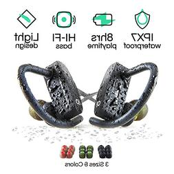 Wireless Bluetooth Headphones with Mic by POP Design | Best