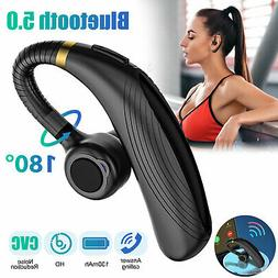 Wireless Headphone Noise Cancelling Trucker Headset Earpiece