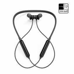 Active Noise Cancelling Headphones Wireless Neckband Headset