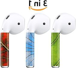AirPods Skin   - Easy to Wrap & Matte 3M Decal - Compatible