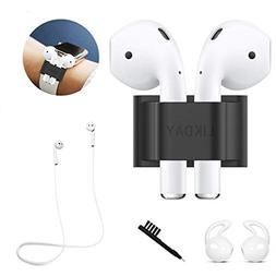 LIKDAY AirPods Headphones Accessories - Holder for iwatch Ba