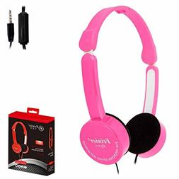 AutumnFall Wired Headphone-Kids Bass Stereo Headset Wired Wi