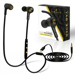 Back Bay 2-in-1 Wireless & Wired Bluetooth Earbuds. Sweatpro