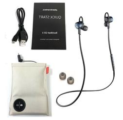 Plantronics BackBeat Go 3 Bluetooth Earbuds - With Charge Ca