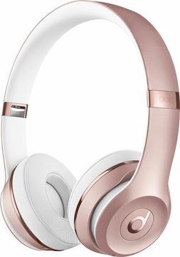 Beats by Dr. Dre Solo3 Wireless On-Ear Headphones - Rose Gol