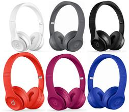 Beats by Dre Solo 3 Wireless On-Ear Headphones Black White R