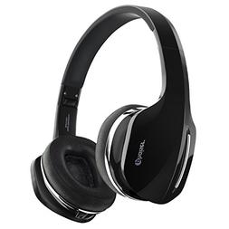 Phaiser BHS-630 Bluetooth Headphones, Wireless On-Ear Stereo