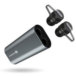 Rowkin Bit Charge Stereo with Earhooks: True Wireless Earbud