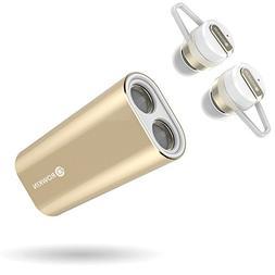 Rowkin Bit Charge Stereo with Earhooks: True Wireless Earbud