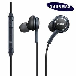 Black AKG Samsung Earphones Headphones Headset Handsfree For