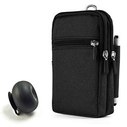 Black Electronics Universal Organizer Bag Pouch Carrying Bag