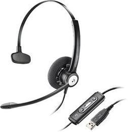 New Plantronics Blackwire C610 M Moc Noise Canceling Microph