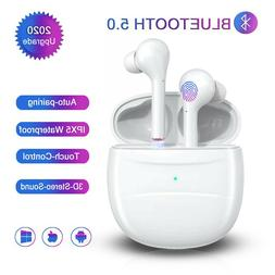 bluetoot true wireless earbuds with charging case