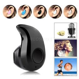 Bluetooth Wireless Headset Earbud Earpiece Stereo In-Ear Ear