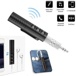 Bluetooth 4.1 3.5mm AUX Wireless Audio Receiver Adapter for
