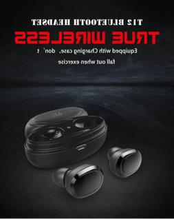 Bluetooth 4.1 Headset Mini TWS Twins T2 Wireless In-Ear Ster