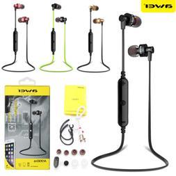 Awei Bluetooth 4.1 Wireless Stereo Earphone Earbuds Sport He