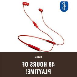Bluetooth 48HR Sports Wireless Earbuds 5x Playtime Than Beat