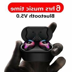 Bluetooth 5.0 Earbuds Mini Wireless In-Ear Earphone Headphon