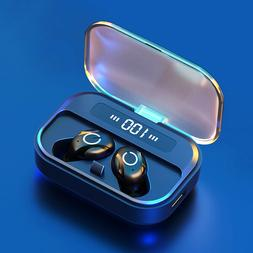 Bluetooth 5.0 Earbuds Wireless Earphones Stereo Sports Heads