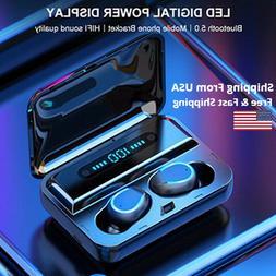 Bluetooth 5.0 Earbuds Wireless Headset Waterproof Noise Canc